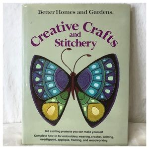 Better Homes And Gardens Accents - VINTAGE 1976 Creative Crafts And Stitchery